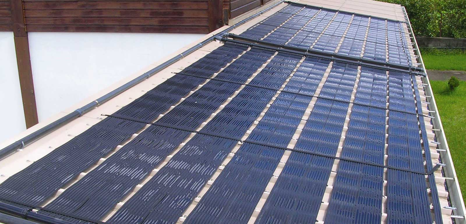 Riscaldamento per piscine piscine castiglione - Pannello solare per piscina ...