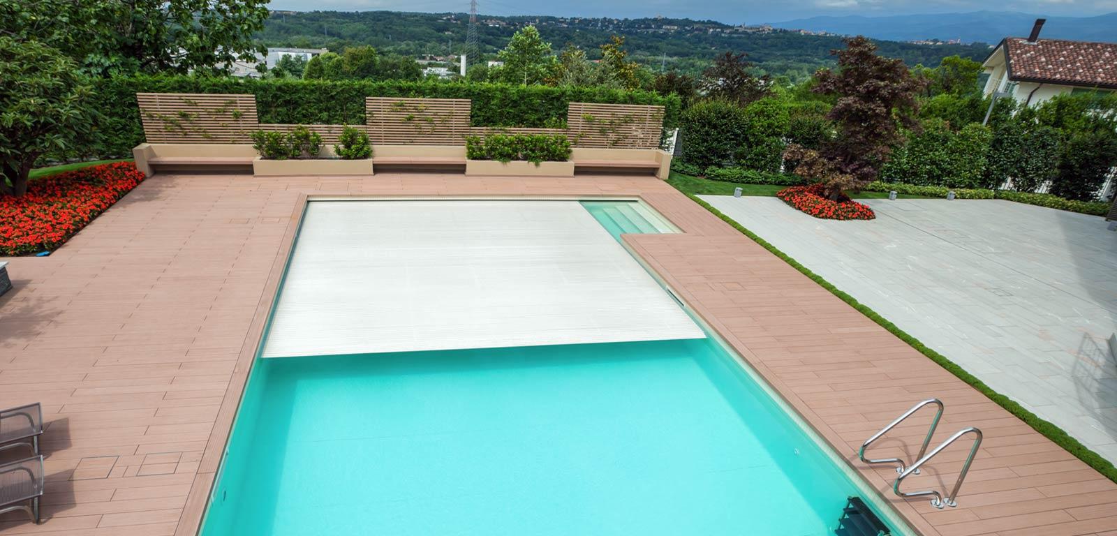 Coperture per piscine accessori piscine castiglione for Castiglione piscine