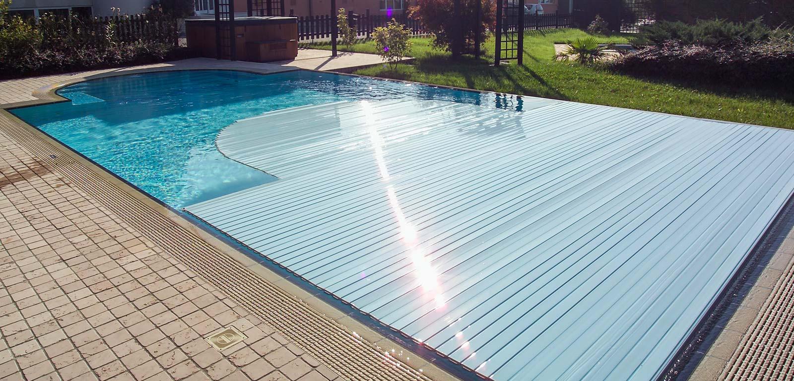 Coperture per piscine accessori piscine castiglione - Teli per piscine ...