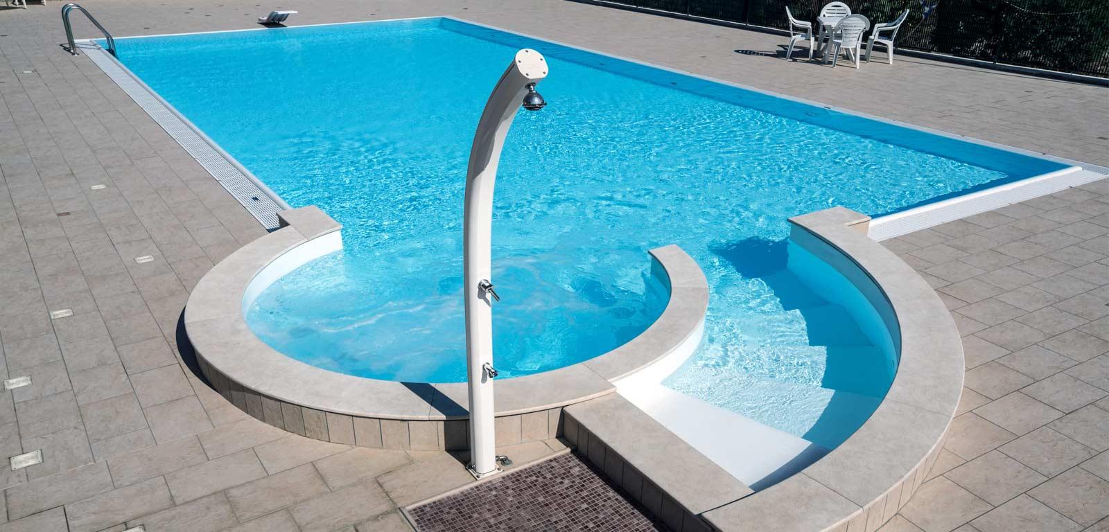 Docce solari ecologiche per giardino piscine castiglione - Ipoclorito di calcio per piscine ...