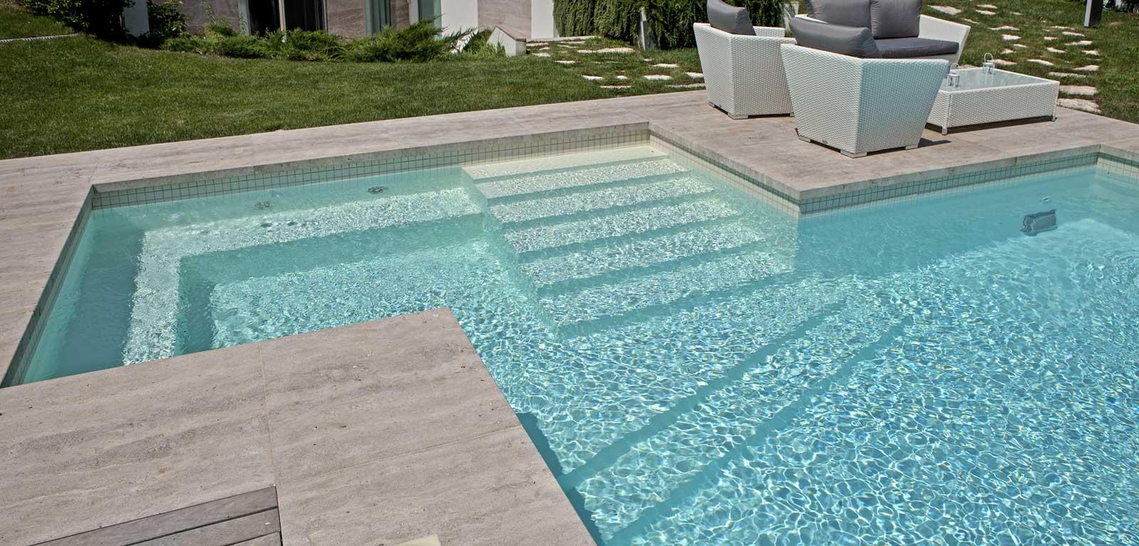 Scale per piscine piscine castiglione for Sedute per piscine