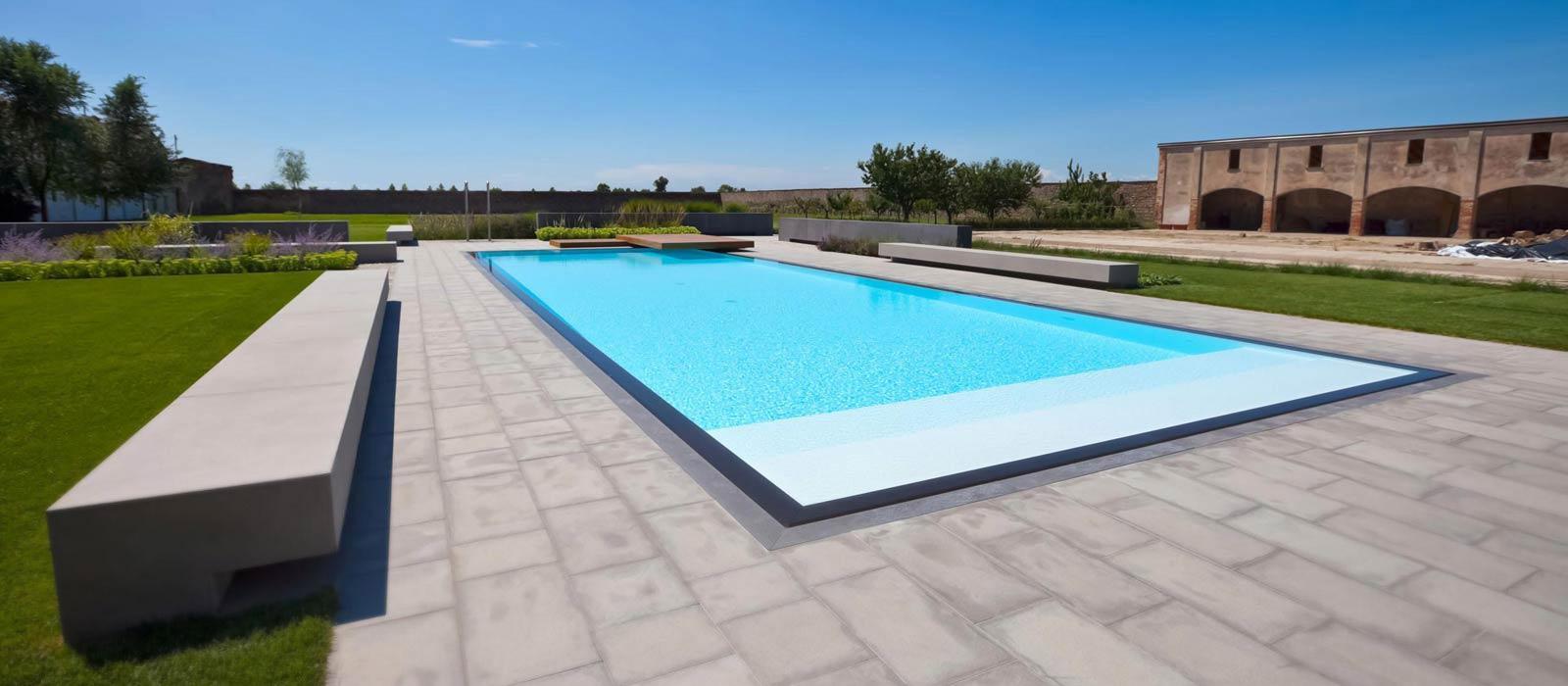 Piscine castiglione costruzione piscine interrate dal 1961 - Piscine per giardino ...