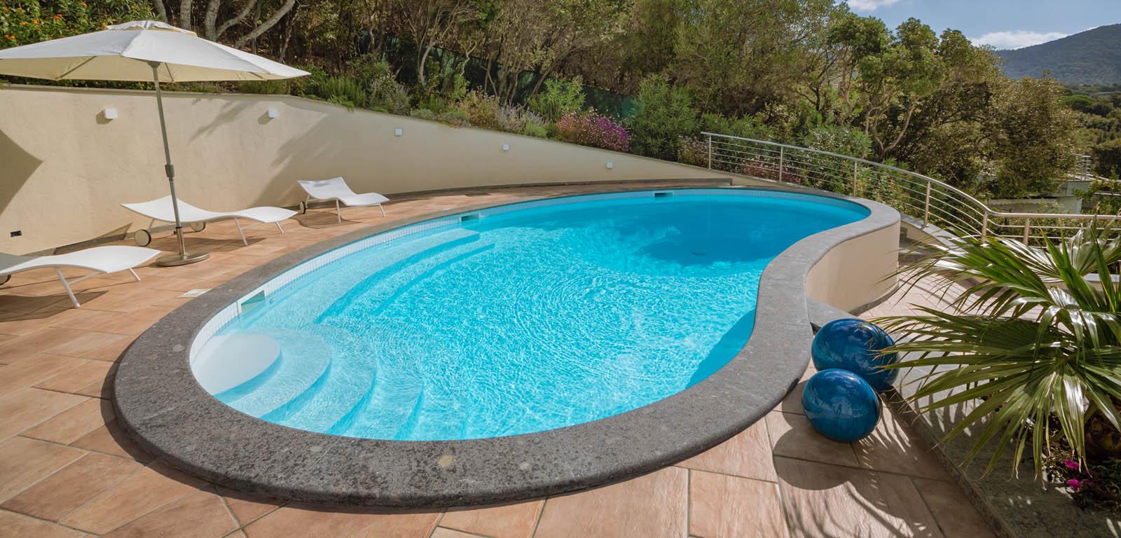Piscine fuori terra esterne e rialzate piscine castiglione for Castiglione piscine