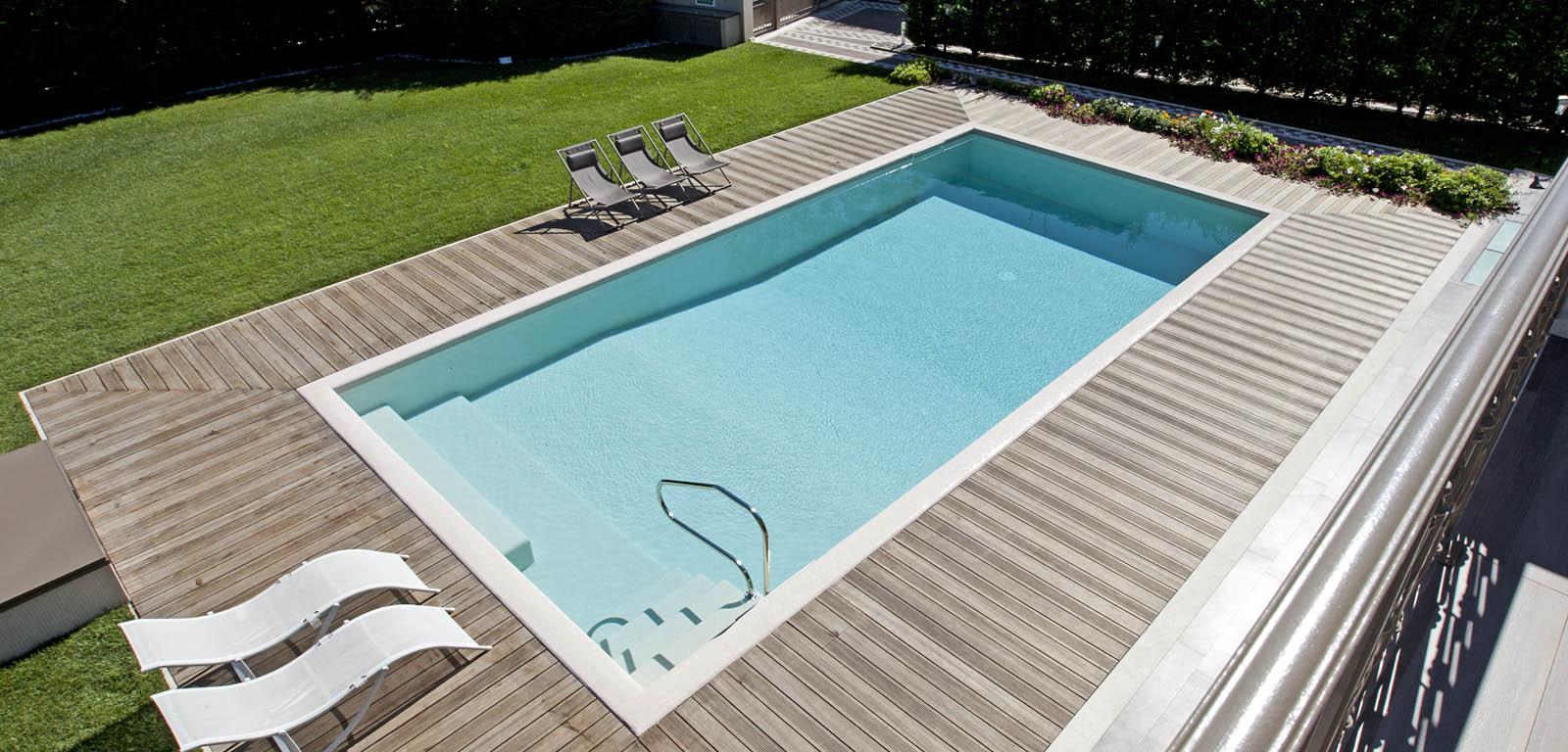 Piscine interrate vantaggi e prezzi piscine castiglione for Prix piscine beton 6x3
