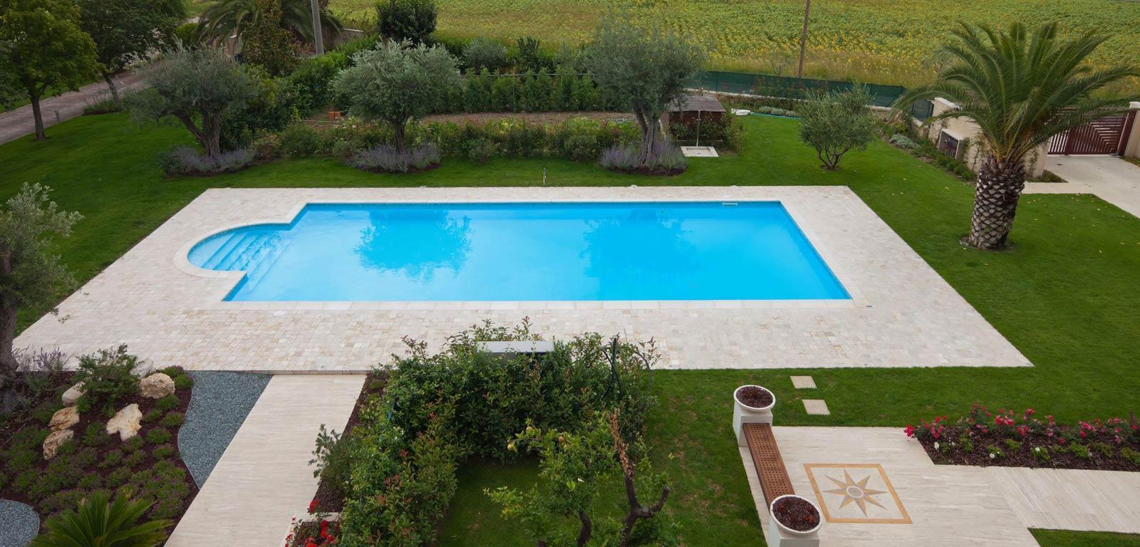 Piscine interrate vantaggi e prezzi piscine castiglione for Piscine italia