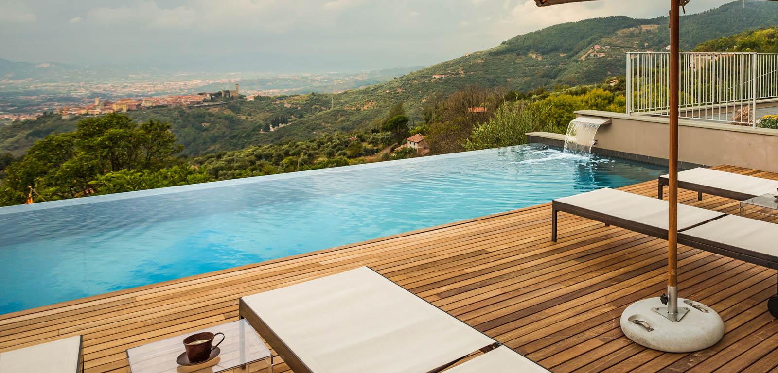 Piscine su terrazzo piscine castiglione - Piscina terrazzo ...