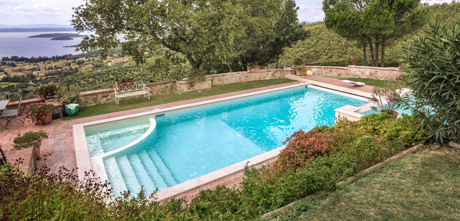Piscine interrate vantaggi e prezzi piscine castiglione - Piscine seminterrate prezzi ...
