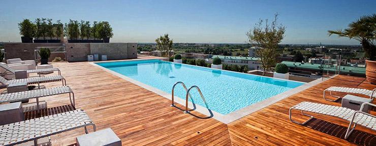 Piscine particolari modello gre kpeov piscina interrata for Progetti di piscine e pool house
