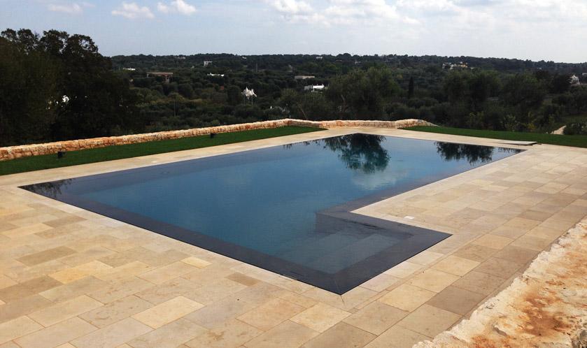 Con trilogy cambia il design della piscina piscine for Clorazione piscine