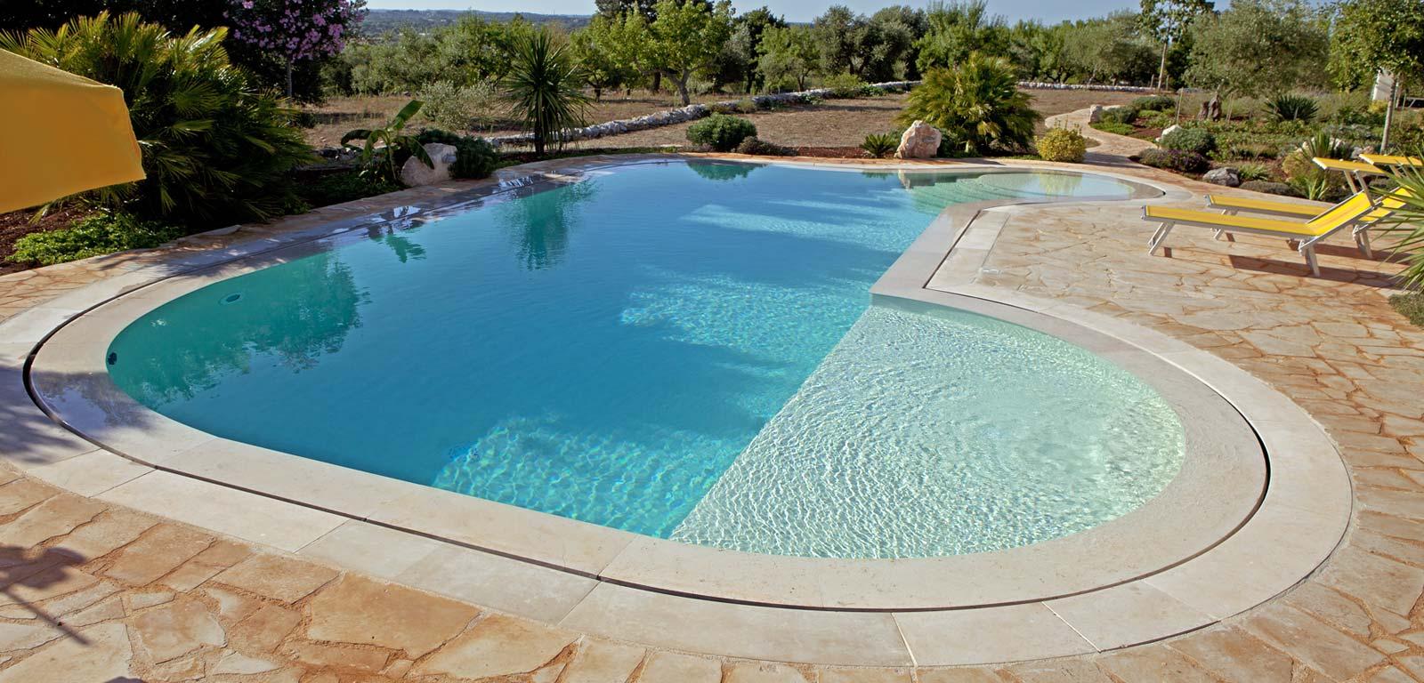 Sfioro trilogy piscine castiglione for Acqua per piscine