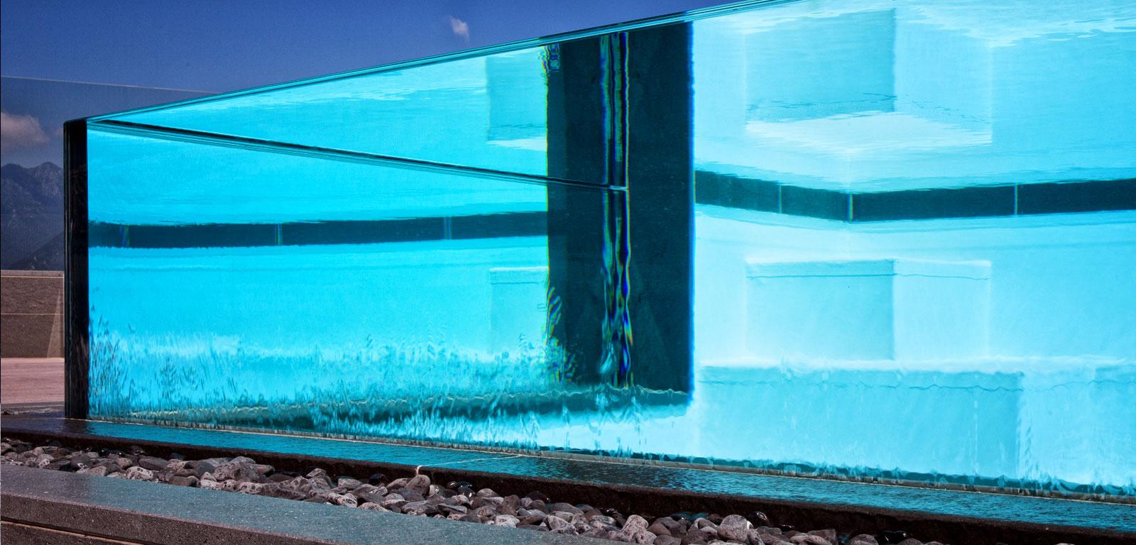 Sfioro crystal piscine castiglione - Piscina in vetro ...