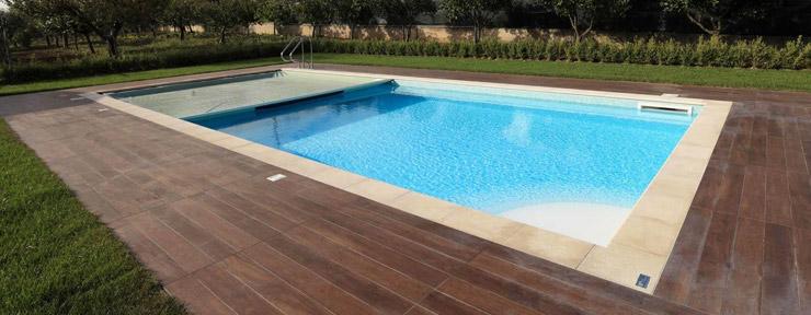 Foto di piscine piscine fuoriterra con struttura portante - Foto di piscine interrate ...