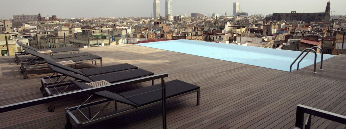 piscina su attico