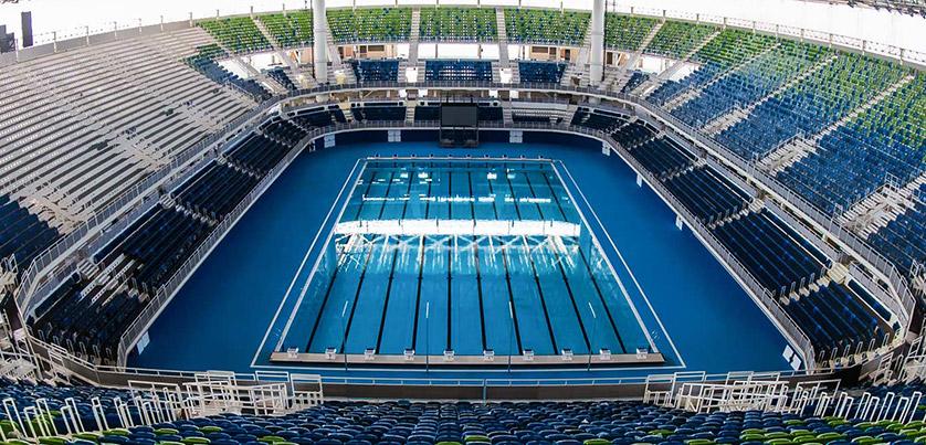 Pochi giorni all 39 inizio delle olimpiadi piscine castiglione - Piscina olimpiadi ...