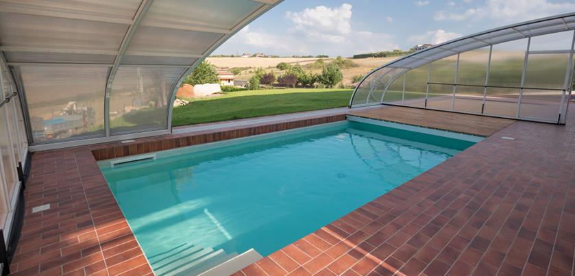 Vuoi usare ancora la piscina? Installa la copertura telescopica ~ Piscine Castiglione