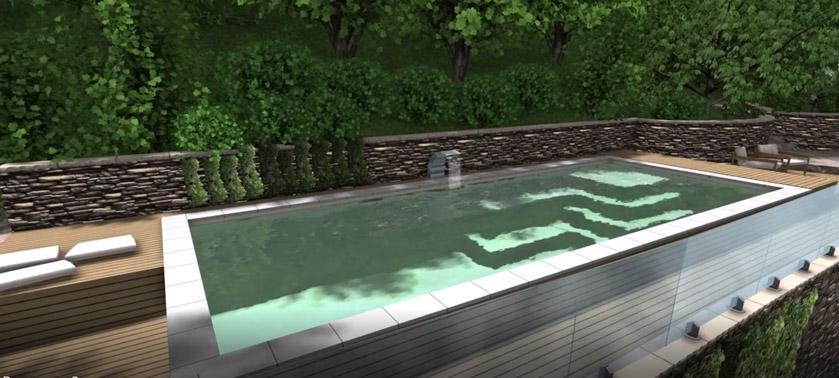 Noi e il vostro architetto di fiducia per la costruzione for Clorazione piscine