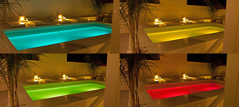 Come scegliere l illuminazione pi adatta alla vostra piscina - Illuminazione piscina ...