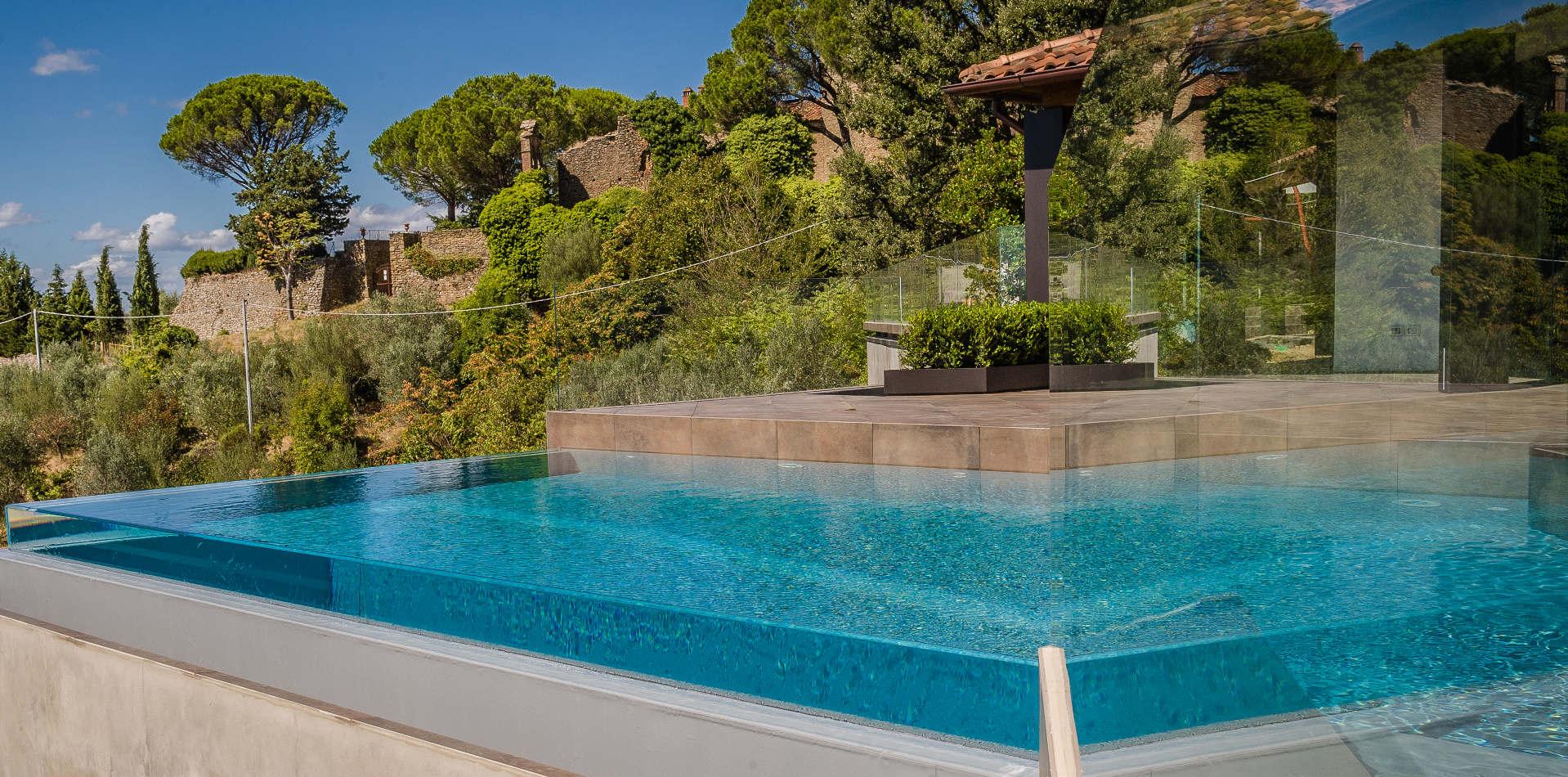 Piscine Sfioro A Cascata sfioro crystal ~ piscine castiglione