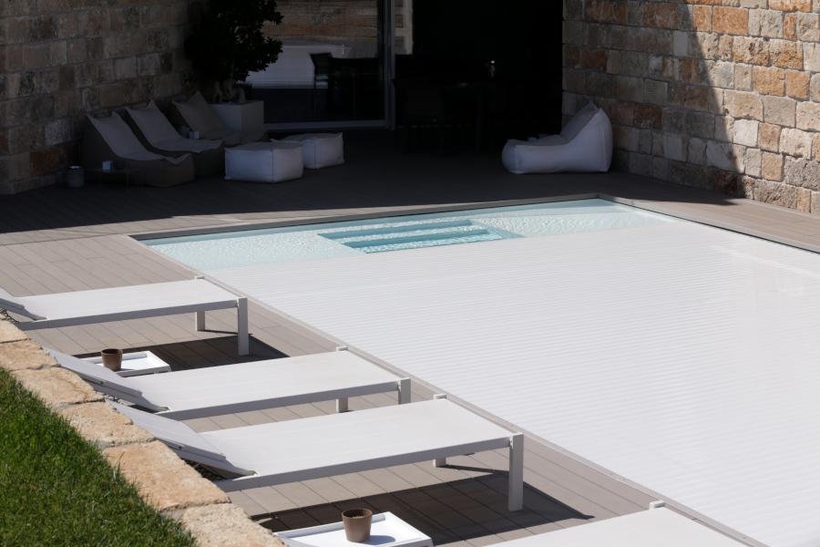Coprire la piscina - Piscine Castiglione