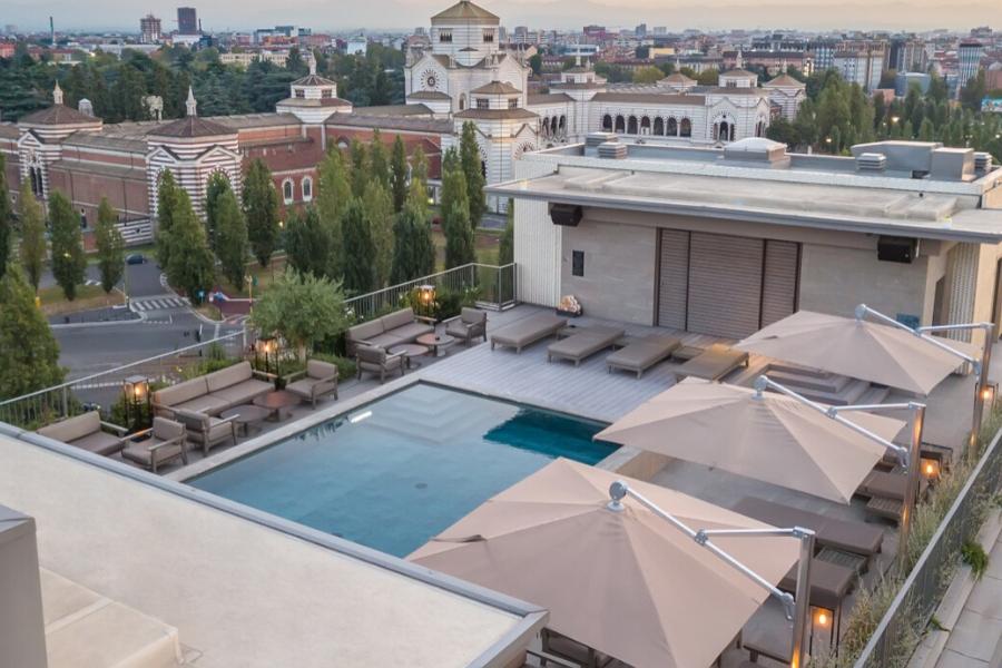 La piscina più bella della City