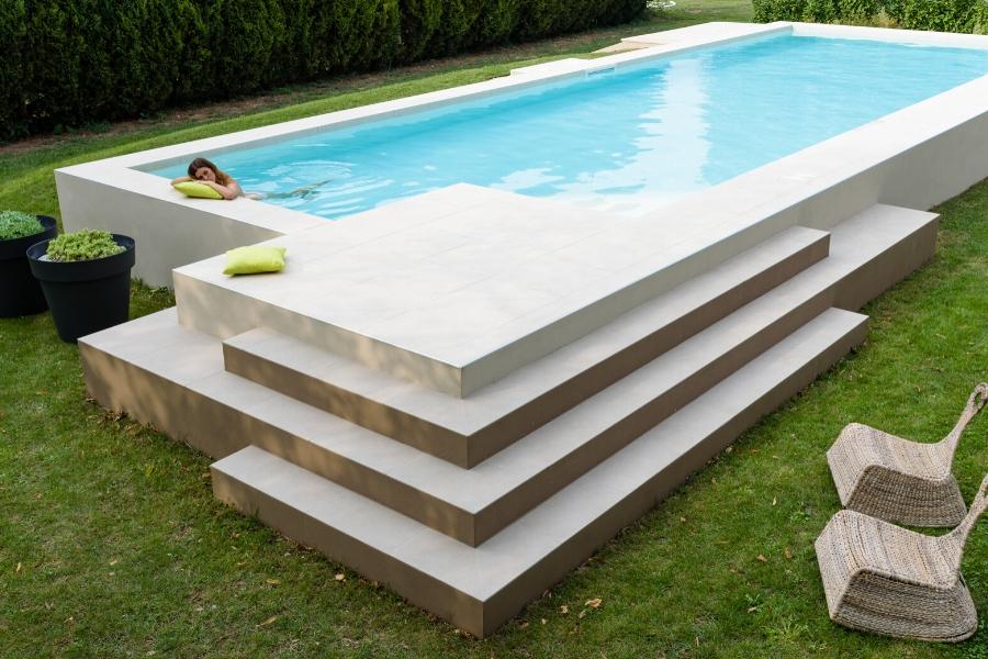 una piscina per il relax