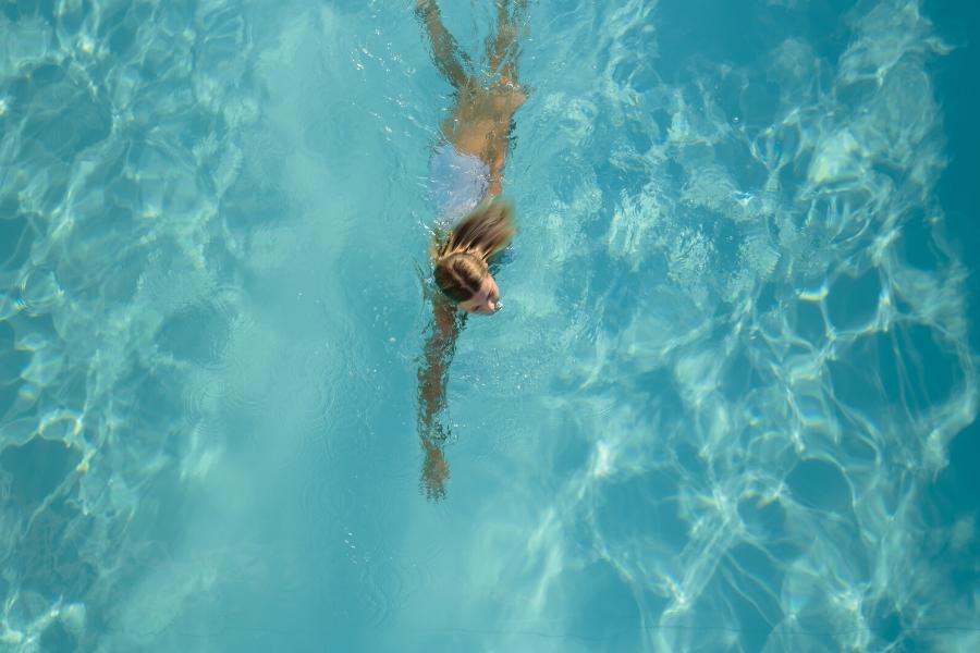 dispositivo per nuoto controcorrente