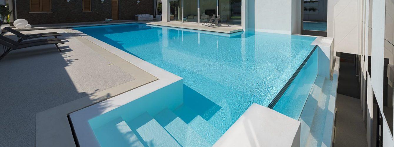 piscina fuoriterra crystal terrazzo