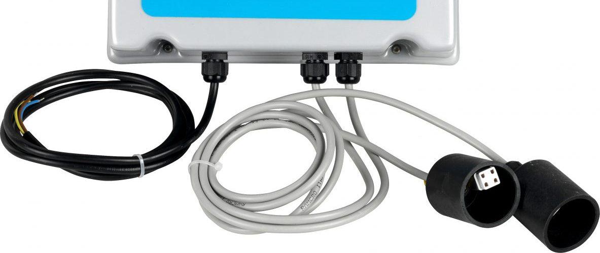 centralina per piscine sistema ultravioletti