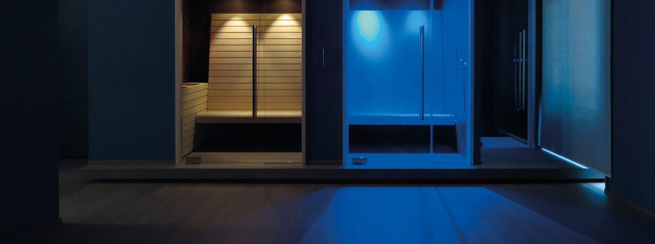 Sauna e bagno turco a 2 posti per aree private