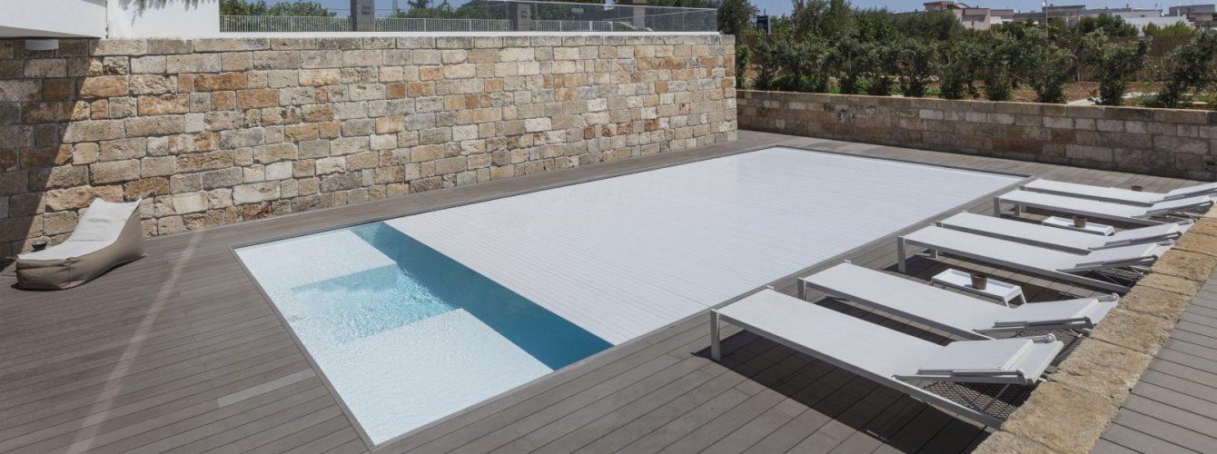 copertura automatica per piscina