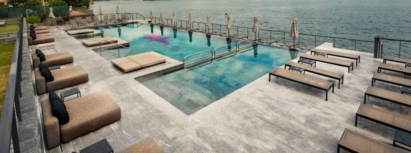 piscina di design per hotel