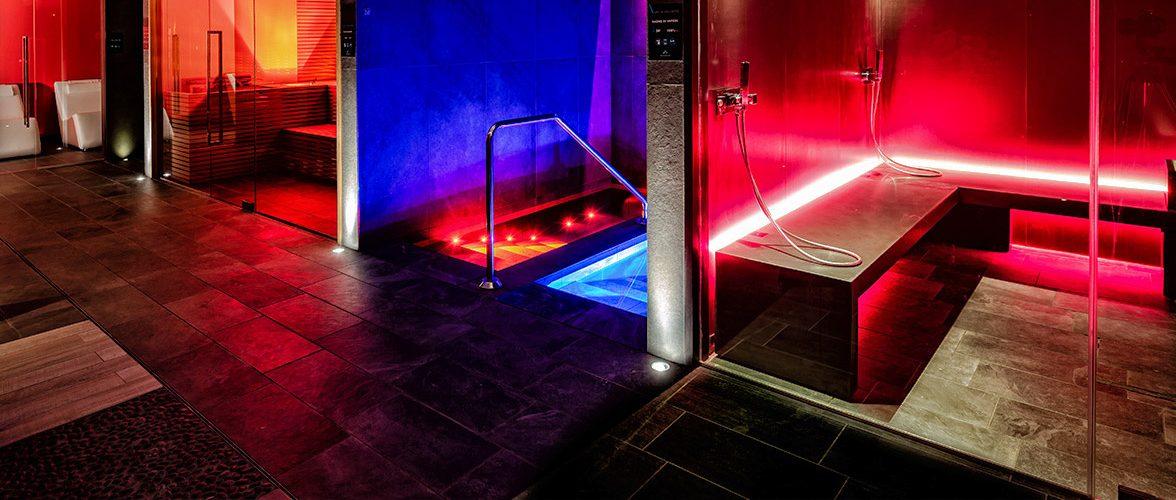 stanza relax, sauna, percorso caldo-freddo, bagno turco